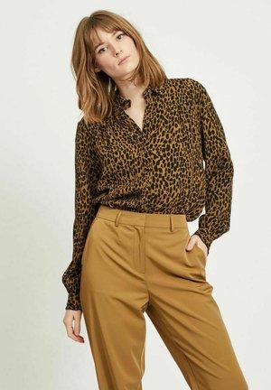 Button-down blouse - butternut
