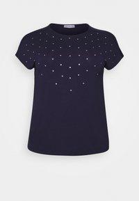 Anna Field Curvy - Print T-shirt - evening blue - 3