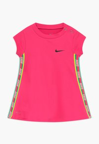 Nike Sportswear - RAINBOW TAPING BABY - Vestito di maglina - hyper pink - 0