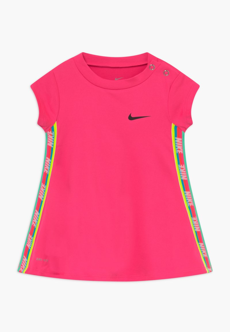 Nike Sportswear - RAINBOW TAPING BABY - Vestito di maglina - hyper pink
