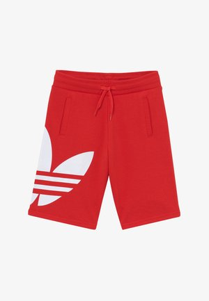 Tracksuit bottoms - lusred/white