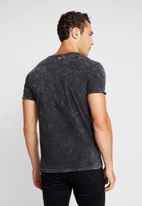 Key Largo - MT BEARDED BIKER - Print T-shirt - black - 2