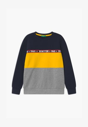 BASIC BOY - Sweatshirts - dark blue/red/grey