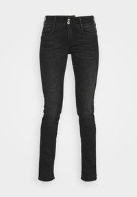 PULPREG - Straight leg jeans - black