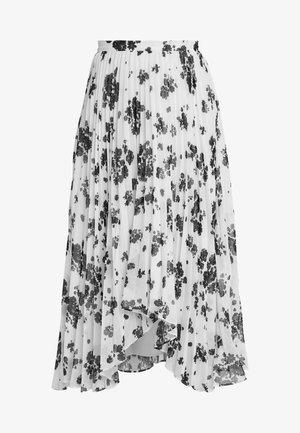 UNQUE SKIRT - Spódnica plisowana - ivory