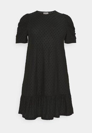 CARDIDDE PUFF KNEE DRESS - Jersey dress - black