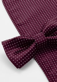 Only & Sons - ONSTBOX THEO TIE SET - Kapesník do obleku - cabernet/white - 4