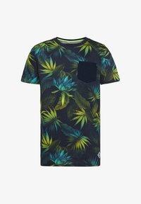 WE Fashion - MIT BLÄTTERMUSTER - T-shirt con stampa - multi-coloured - 0