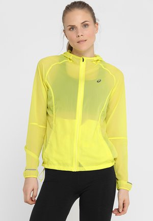 PACKABLE JACKET - Sports jacket - lemon spark