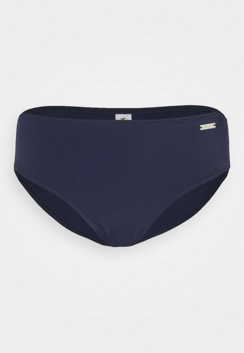 LASCANA - HIGHWAIST - Bikini bottoms - navy