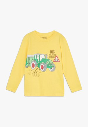 KIDS TRACTOR - Long sleeved top - gelb original