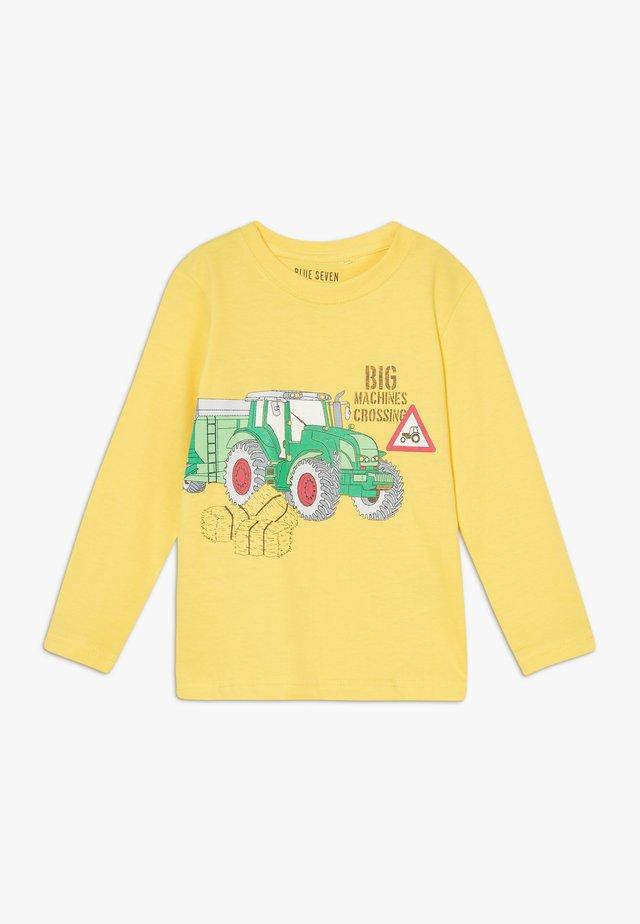 KIDS TRACTOR - Langærmede T-shirts - gelb original