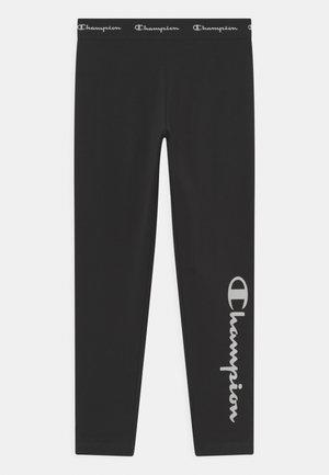 AMERICAN CLASSICS LOGO UNISEX - Leggings - Trousers - black/white