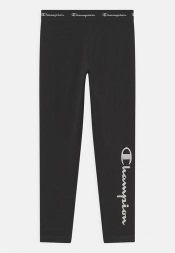 AMERICAN CLASSICS LOGO UNISEX - Leggings - black/white