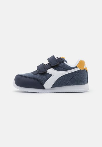 JOG LIGHT UNISEX - Sports shoes - black iris/golden apricot