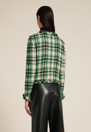 Summer jacket - var nero/verde/bronz