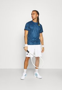 adidas Performance - TEE  - Print T-shirt - blue - 1