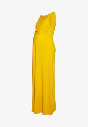 Vestido largo - golden yellow