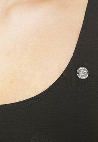 Ragwear - TRISHA - Jersey dress - black - 3