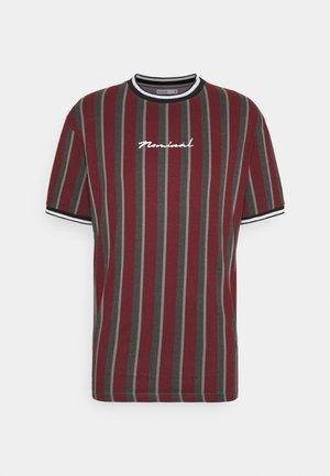 FINLEY - T-shirt imprimé - burgundy