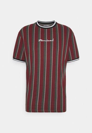 FINLEY - Print T-shirt - burgundy