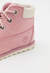 Timberland - POKEY  - Lace-up ankle boots - light pink - 5
