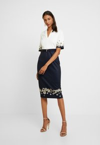 Ted Baker - AVII - Cocktailkjole - dark blue - 0