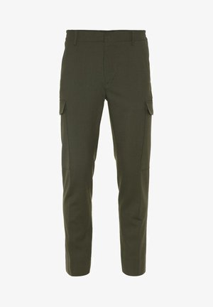 SASHA  - Cargo trousers - covert green