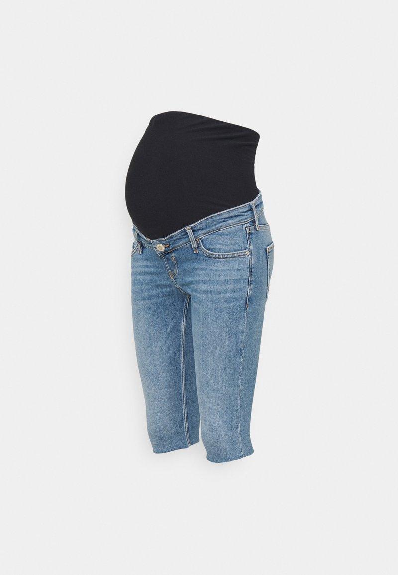 River Island Maternity - Denim shorts - mid authentic