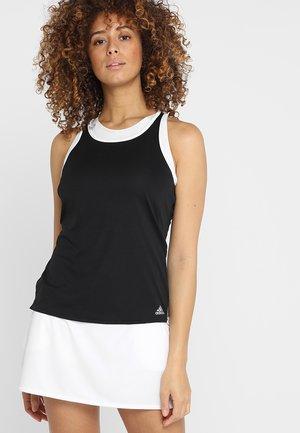 CLUB TANK - Sports shirt - black