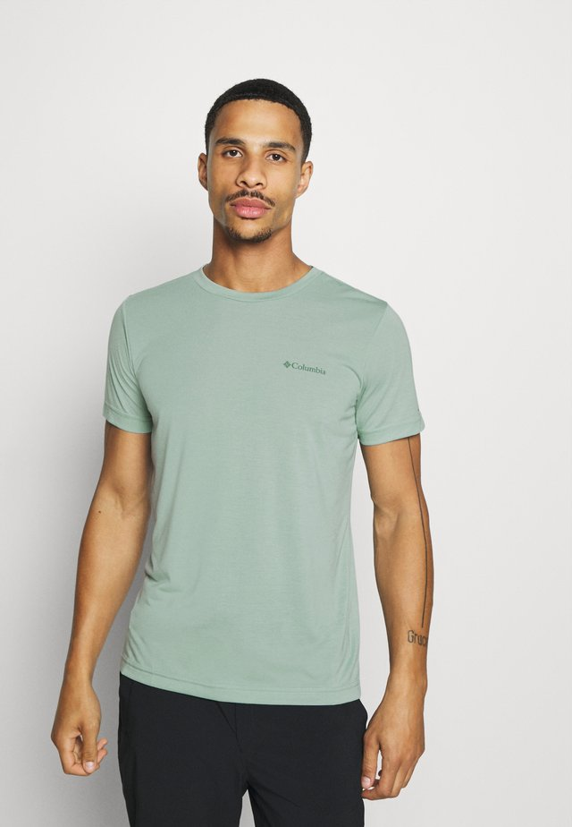MAXTRAIL LOGO TEE - T-shirt print - aqua tone