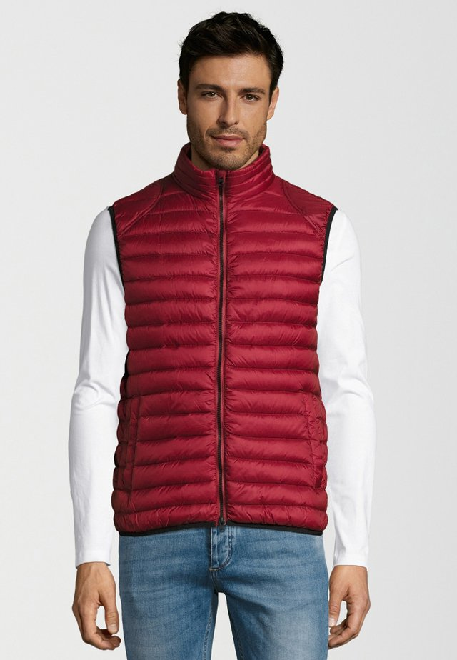 CIBASH - Bodywarmer - red