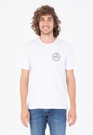 EVD WSH FORMULA SS - T-shirt print - white