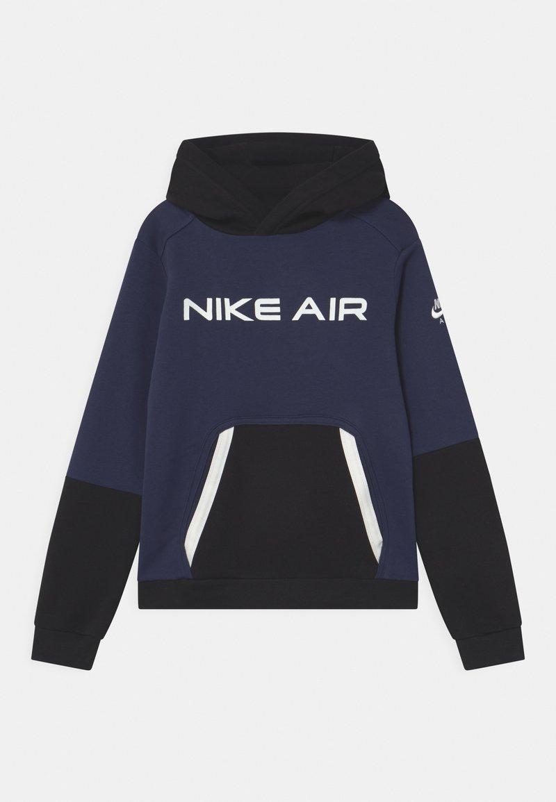 Nike Sportswear - AIR - Hoodie - midnight navy/black/white