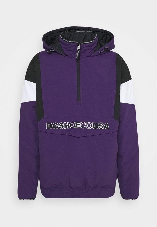 TRANSITION REVERSIBLE ANORAK - Snowboard jacket - grape