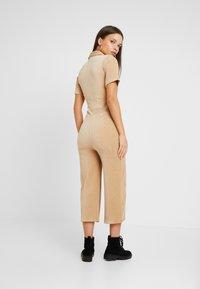 Miss Selfridge Petite - BOILER - Jumpsuit - camel - 2
