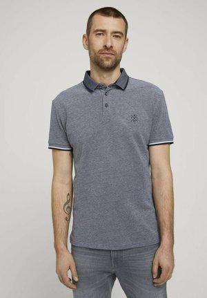 STRUKTURIERTES - Polo shirt - grey