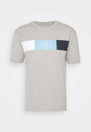 VIPER - T-shirt print - grey marl