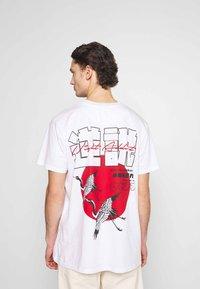 Night Addict - NAFEAR - Print T-shirt - white - 0