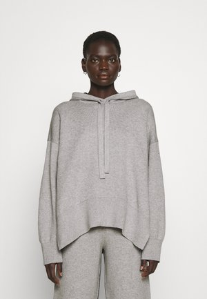 BLEND HOODIE - Sweter - grey melange/black