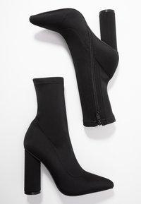 BEBO - ARANZA - High heeled ankle boots - black - 3