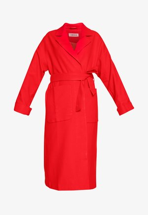 SANTO COAT - Zimní kabát - rot