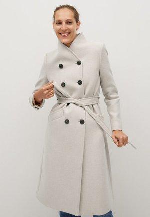 LUNA - Płaszcz wełniany /Płaszcz klasyczny - open beige