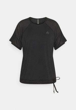 ONPNELL TRAINING TEE - Print T-shirt - black