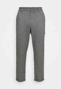PORTMAN PANTS - Trousers - smoked pearl melange