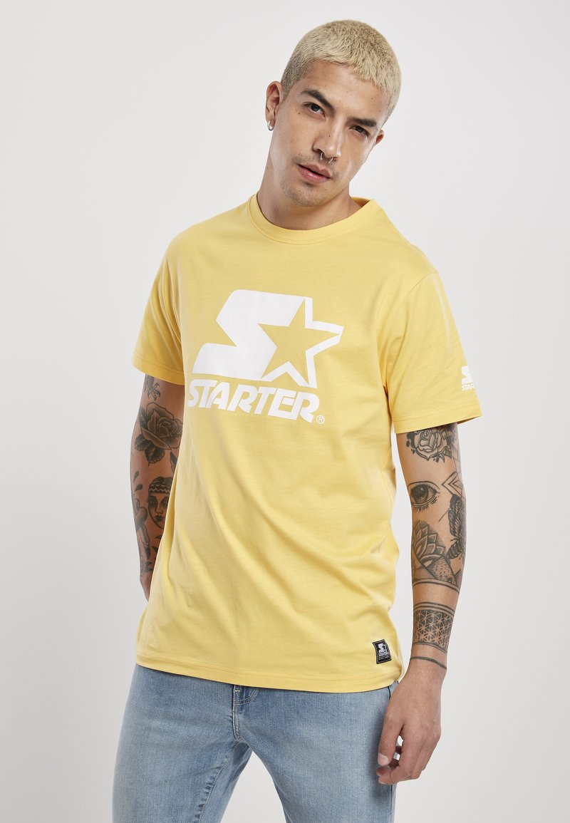 Starter - Print T-shirt - buff yellow