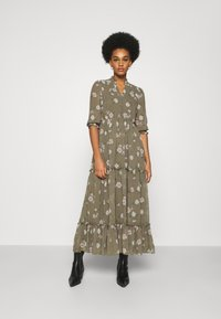 Vero Moda - VMTALLIE FLOUNCE  - Maxi dress - bungee cord - 0
