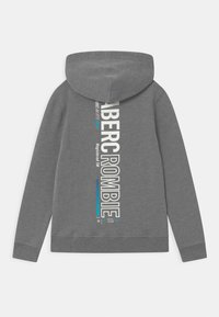 Abercrombie & Fitch - LOGO  - Jersey con capucha - grey - 1