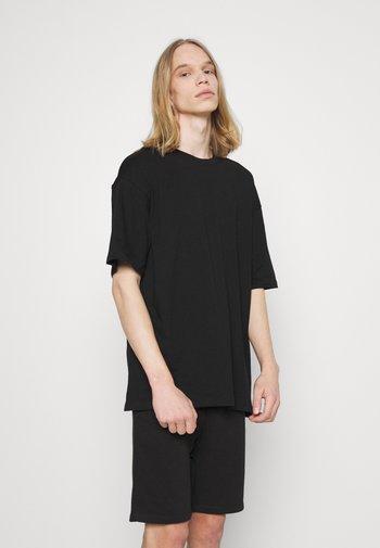 JORBRINK TEE CREW NECK SET - Basic T-shirt - black