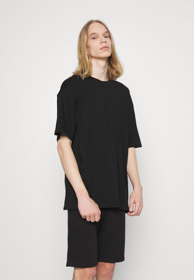 JORBRINK TEE CREW NECK SET - T-shirt basic - black
